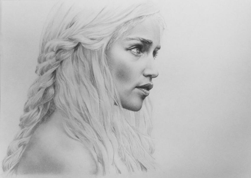 Emilia Clarke by hedwige